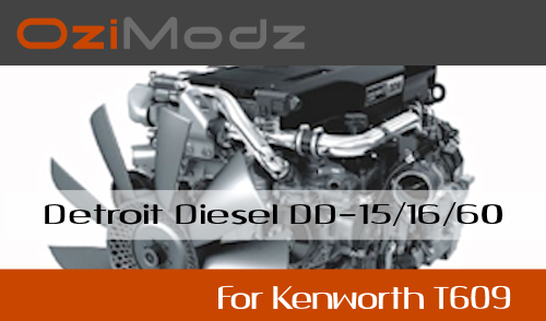 DD Engine for Kenworth T609