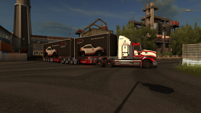 GTR Logistics Kenworth T609 & Trailers